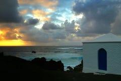 Drastische Küstenlinie Stockfotografie