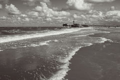 Drastische Küstenszene stockbilder