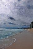 Drastische Leuchte in Cancun Stockbild