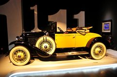 Drastische Reise für 110 Jahre – Cadillac-Entwurf 2012 und Art Show, Peking Stockbilder