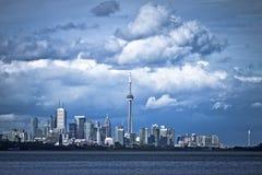 Drastische Wolke über Toronto Lizenzfreie Stockfotografie