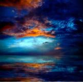 Drastische Wolken Stockbilder