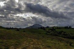 Drastische Wolken Stockfotos