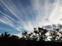 Drastische Wolken Lizenzfreies Stockfoto