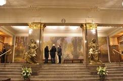 Am drastischen Theater in Stockholm Lizenzfreies Stockbild