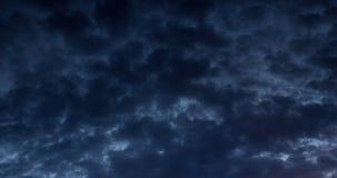 Drastischer Abendhimmel Lizenzfreies Stockfoto