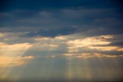 Drastischer Himmel Stockfotografie