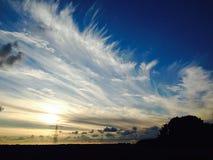 Drastischer Himmel Stockbilder