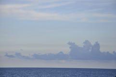 Drastischer Himmel vom Miami Beach in Florida USA Lizenzfreies Stockfoto