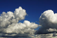 Drastisches Cloudscape Stockfoto