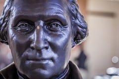 Drastisches Porträt von George Washington 2 Lizenzfreie Stockfotos
