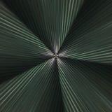 Drastisches Radial-wavey abstraktes Glasmuster Stockfotos