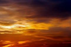 drastyczne niebo Zdjęcia Stock