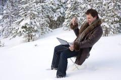 Draußen arbeiten lizenzfreies stockfoto