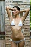 Draußen duschen Stockfotos