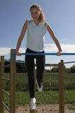 Draußen Gymnastik Lizenzfreies Stockbild