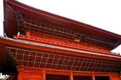 Draufsicht Buddha-Tempels Stockbild