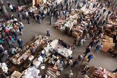 Draufsicht der Flohmarkts Lizenzfreie Stockfotografie