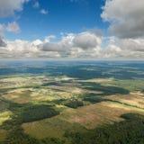 Draufsicht der Landschaft Lizenzfreies Stockbild