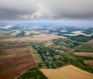 Draufsicht der Landschaft Lizenzfreies Stockfoto