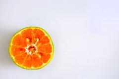 Draufsicht der Orange Lizenzfreies Stockbild