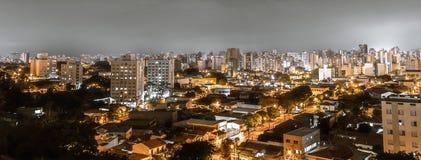Draufsicht der Stadt von Campinas, SP Brasilien stockbild