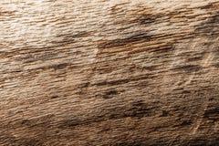 Draufsicht des braunen schäbigen Hartholzes der Weinlese Stockbild