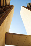 Draufsicht des Gebäudes, Poona, Maharashtra, Indien Lizenzfreies Stockbild