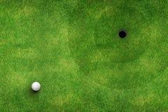 Draufsicht des Golfplatzes vektor abbildung