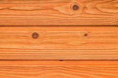Draufsicht des orange alten Holztischbeschaffenheitshintergrundes lizenzfreie stockbilder