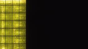 Draufsicht eines großen Gewächshauses mit Gurken auf Höhe stock video footage