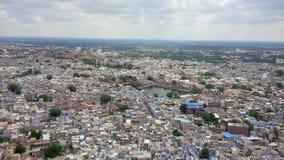 Draufsicht Jodhpur Stockfotos