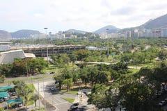 Draufsicht Rio de Janeiros stockfotografie