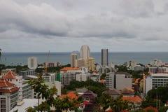 Draufsicht von Pattaya Lizenzfreie Stockfotos