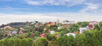 Draufsicht von Vladimir-Stadt Russland Lizenzfreie Stockfotos