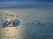 Draufsicht-Wolken Stockbilder