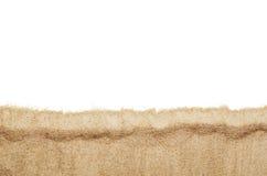 Draufsichtnahaufnahme der Strand- oder Sandmusterbeschaffenheit Lizenzfreies Stockbild