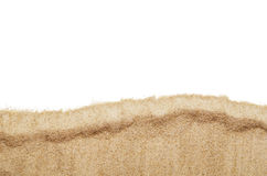 Draufsichtnahaufnahme der Strand- oder Sandmusterbeschaffenheit Lizenzfreie Stockfotografie