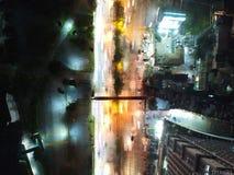 Draufsichtstraße Manila Lizenzfreies Stockfoto