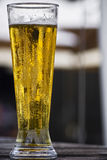 Draught Beer - Tighter Angle Royalty Free Stock Photos