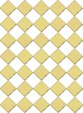 Draught-board background in gold Royalty Free Stock Image