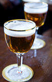 Draught pints Royalty Free Stock Photography