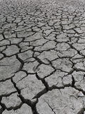 Dried up lake bottom in Draught stricken California Royalty Free Stock Photo