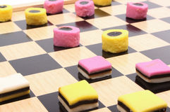 Draughts Royalty Free Stock Photography