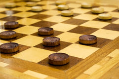 Draughts Royalty Free Stock Photos