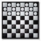 Draughts board Stock Image