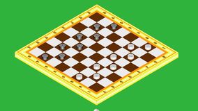 Draughts stock video
