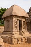 Draupadi Ratha. At Mahabalipuram, India Stock Images