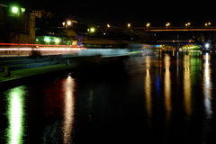 Dravska Vila Boat Fotografia Stock
