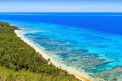 Dravuni海岛,斐济 库存图片